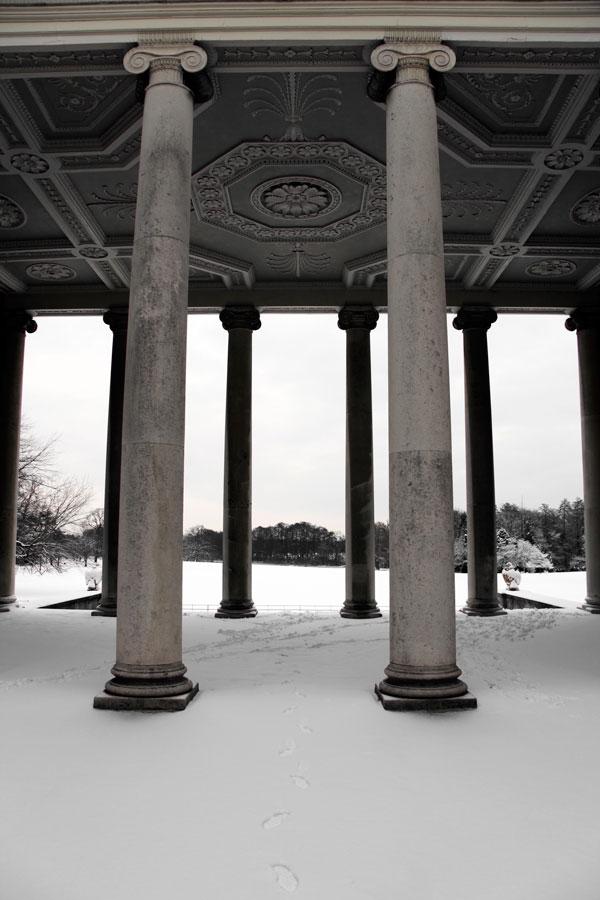 Osterley Pillars Outwards